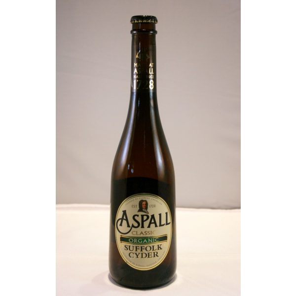 Aspall Classic Organic Suffolk Cyder